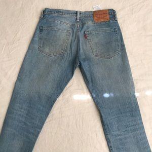 Levi's 511 White Oak Denim Jeans
